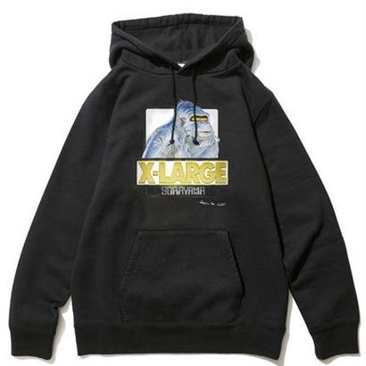 【XLARGE】XLARGE×SORAYAMA OG PULLOVER HOODED SWEAT / 空山基