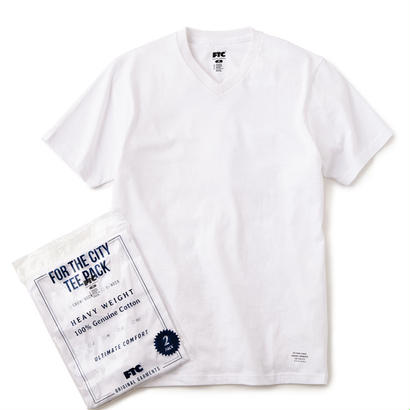 【FTC】ORIGINAL V-NECK T-SHIRTS (2-Pack)