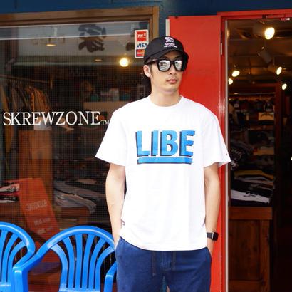 【SKREWZONE】LIBE×SKREWZONE BIG LOGO TEE