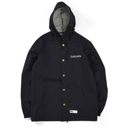 【LAFAYETTE】OUTLINE HUGE LOGO HOODED COACH JACKET