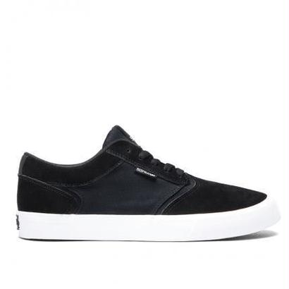 "【SUPRA】SHREDDER  ""BLACK-WHITE"" SIZE9(27cm)"