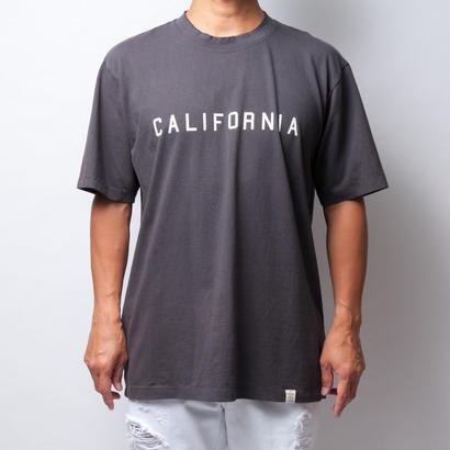 ISLANDER/アイランダー CALIFORNIA/カリフォルニア ビッグシルエット ロゴTシャツ/ライトブラック