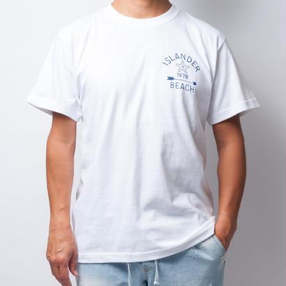 ISLANDER/アイランダー STARFISH & ARROW Tシャツ/ホワイト