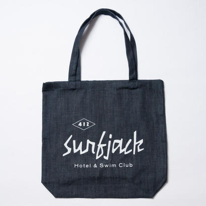 The Surfjack Hotel & Swim Club × OLIVE & OLIVERデニムトートバッグ