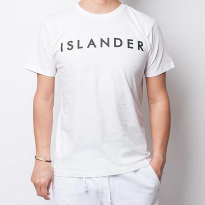 ISLANDER/アイランダー サマーロゴTシャツ(ホワイト)