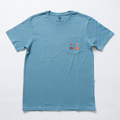 VISSLA(ヴィスラ)×HESS(ヘス)Tシャツ/S