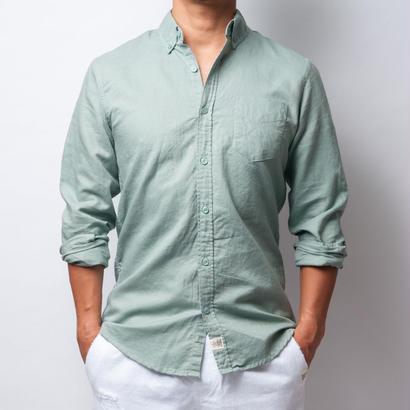 ISLANDER/アイランダー ボタンダウンシャツ/ライトカーキ