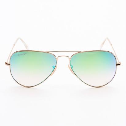 Entourage(アントラージュ)Teardrop Mirror Sunglasses サングラス/Green