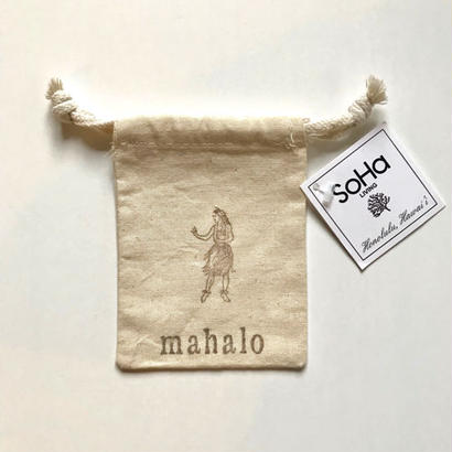 SoHa LIVING/Asst. Small Pouches『mahalo』/巾着袋/S