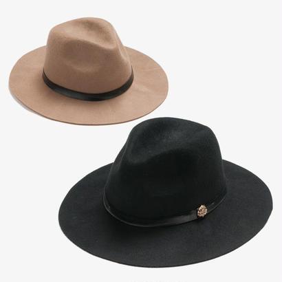 Entourage(アントラージュ)Original Mountain Hat 中折れハット/Black