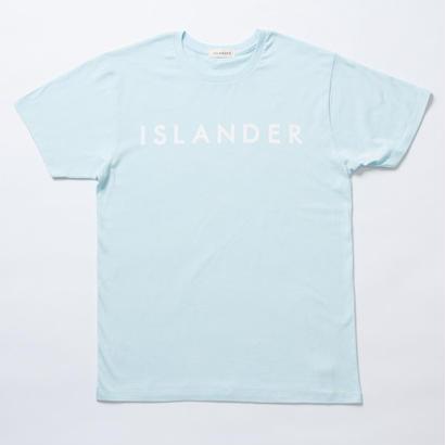 ISLANDER/アイランダー オリジナルロゴTシャツ(シャーベットブルー)