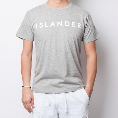 ISLANDER/アイランダー サマーロゴTシャツ(グレー)
