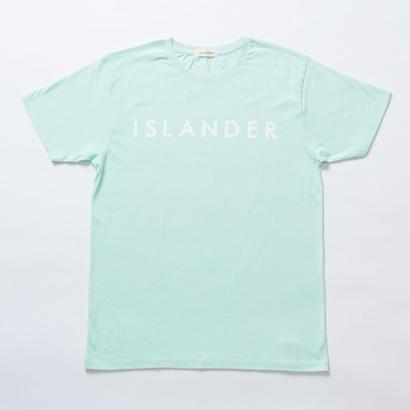 ISLANDER/アイランダー オリジナルロゴTシャツ(シャーベットグリーン)