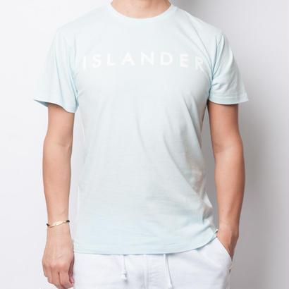 ISLANDER/アイランダー サマーロゴTシャツ(シャーベットブルー)