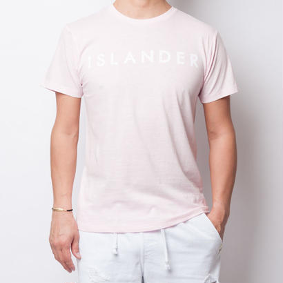 ISLANDER/アイランダー サマーロゴTシャツ(シャーベットピンク)