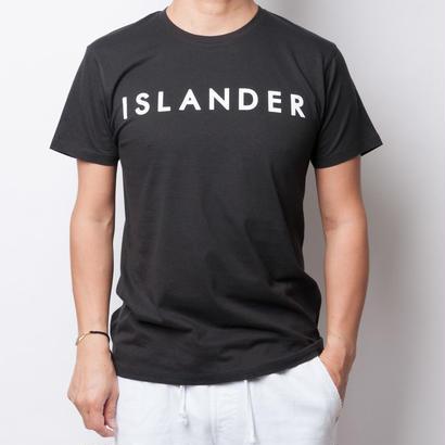 ISLANDER/アイランダー サマーロゴTシャツ(ブラック)