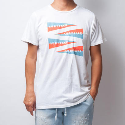 The Surfjack Hotel & Swim Club × OLIVE & OLIVERフラッグTシャツ/S