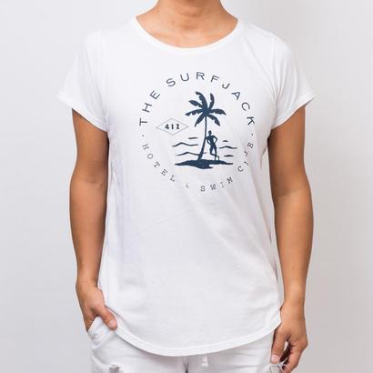 The Surfjack Hotel & Swim Club × OLIVE & OLIVER コラボTシャツ/ホワイト