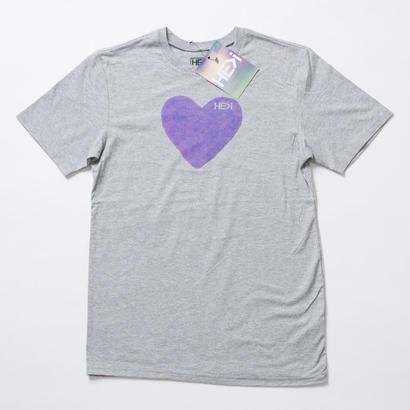 HE>i(ヒー)Tシャツ KID'S AGAPE TEE(ヘザーグレー)XL18