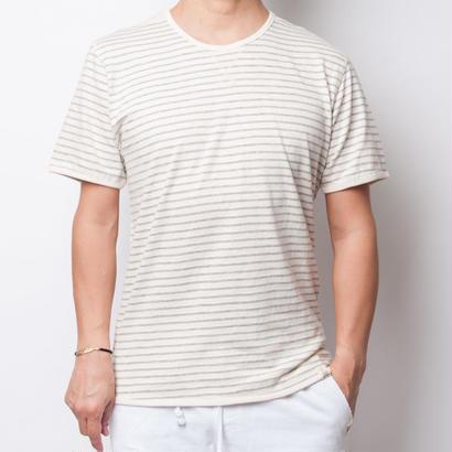 ISLANDER/アイランダー ボーダーTシャツ/グレー