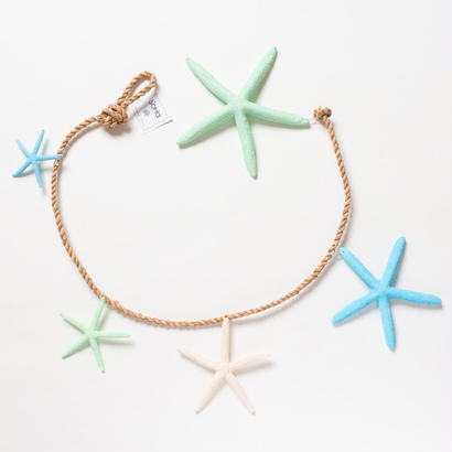 SoHa LIVING/Blue Starfish Garland Strand/スターフィッシュ壁掛けオーナメント