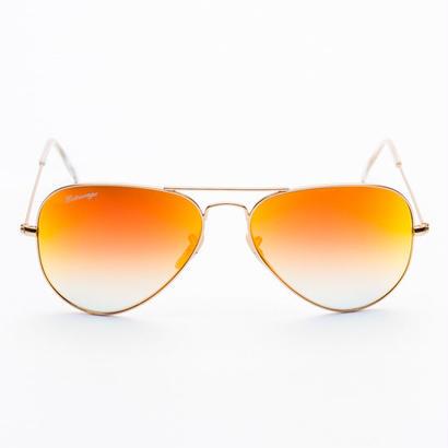 Entourage(アントラージュ)Teardrop Mirror Sunglasses サングラス/Orange