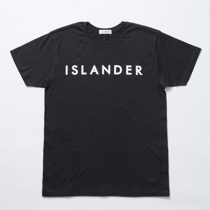 ISLANDER/アイランダー オリジナルロゴTシャツ(ブラック)