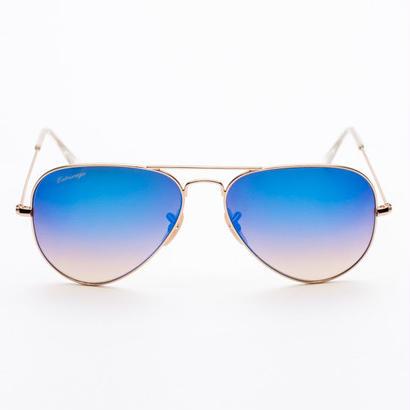 Entourage(アントラージュ)Teardrop Mirror Sunglasses サングラス/Blue