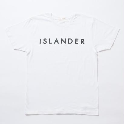 ISLANDER/アイランダー オリジナルロゴTシャツ(ホワイト)