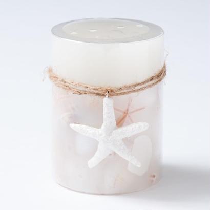 ハワイ/ピアワンインポーツ貝殻入りcoconut isles candleシェルキャンドル