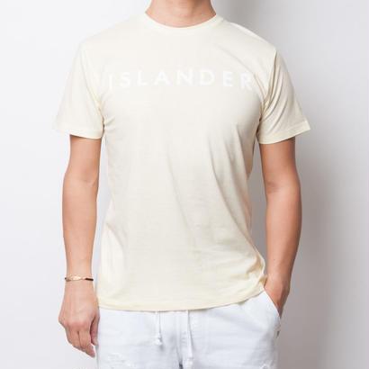 ISLANDER/アイランダー サマーロゴTシャツ(シャーベットイエロー)