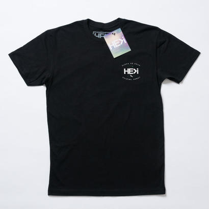 HE>i(ヒー)Tシャツ GARAGE TEE(ブラック)S