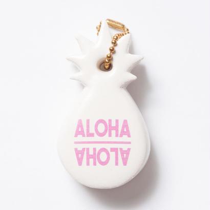 ハワイ限定 Hawaiian Pineapple Key/パイナップルキーホルダー(ホワイト)