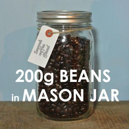 MASON JAR×コーヒー豆 200g