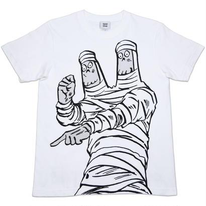 鬼太郎の世界お化け旅行 ミイラ妖怪 T-Shirts Color  ホワイト