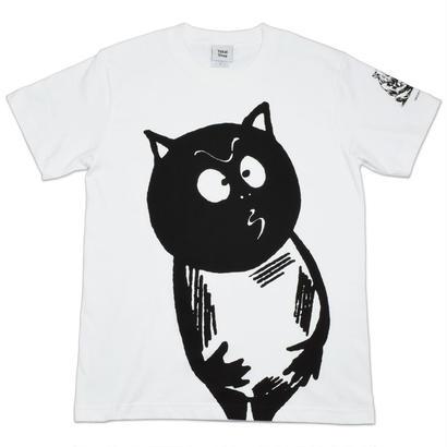 河童の三平 刑部狸 T-Shirts Color  ホワイト