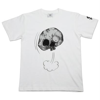 【予約販売】墓場の鬼太郎 しゃれこうべ T-Shirts Color  ホワイト〔4月下旬〜5月中旬発送〕