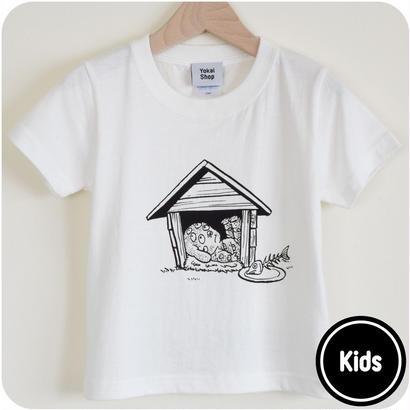 [予約販売]  悪魔くん 百目 キッズsizeT-Shirts Color バニラホワイト