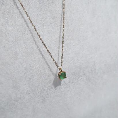 K10ゴールド ネックレス<Stellar/Green Healing>