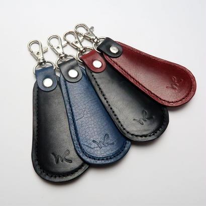 携帯用靴ベラ /本牛革オイルレザー