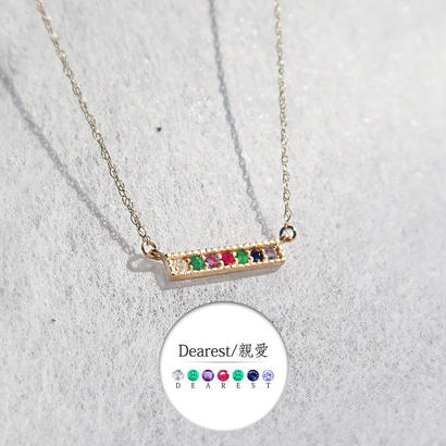 K10ゴールド <メッセージネックレス/DEAREST>