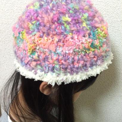 キッズ ファンシーニット帽