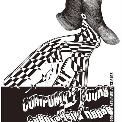 COMPUMA 7HOURS Guggenheim House - SEASON OFF- ポスター(A1サイズ)梱包+送料代込み