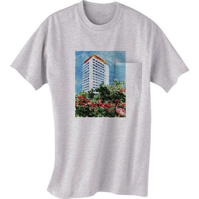 """SALE!!!""""MUSIC LOVERS ONLY reprise dub"""" T-shirt(アッシュ)SOMETHING ABOUT 2015"""