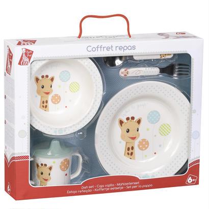 箱ダメージOUTLET: ファーストミール食器セット(バルーン)#470007