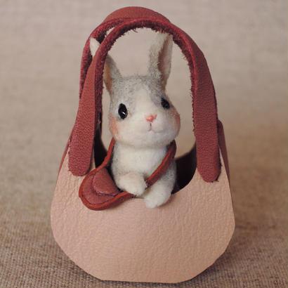 ウサギ(グレー)