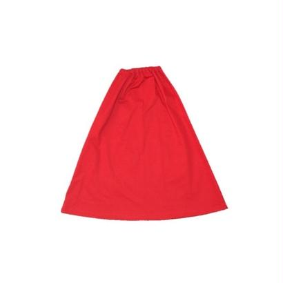 Lindsey's red skirt