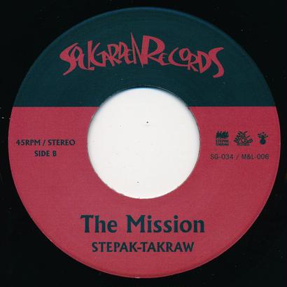 "[SG-034] STEPAK-TAKRAW - Gazelle / The Mission (7"" Vinyl)"