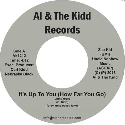 "[AK 1212] Light Years - It's Up To You (How Far You Go) / Do It To The Max  (7"" Vinyl)"