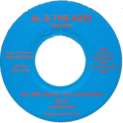 "[SG-043] (AK1202) Jim Bennett - You Win Some, You Lose Some Part 1&2 (7"" Vinyl)"